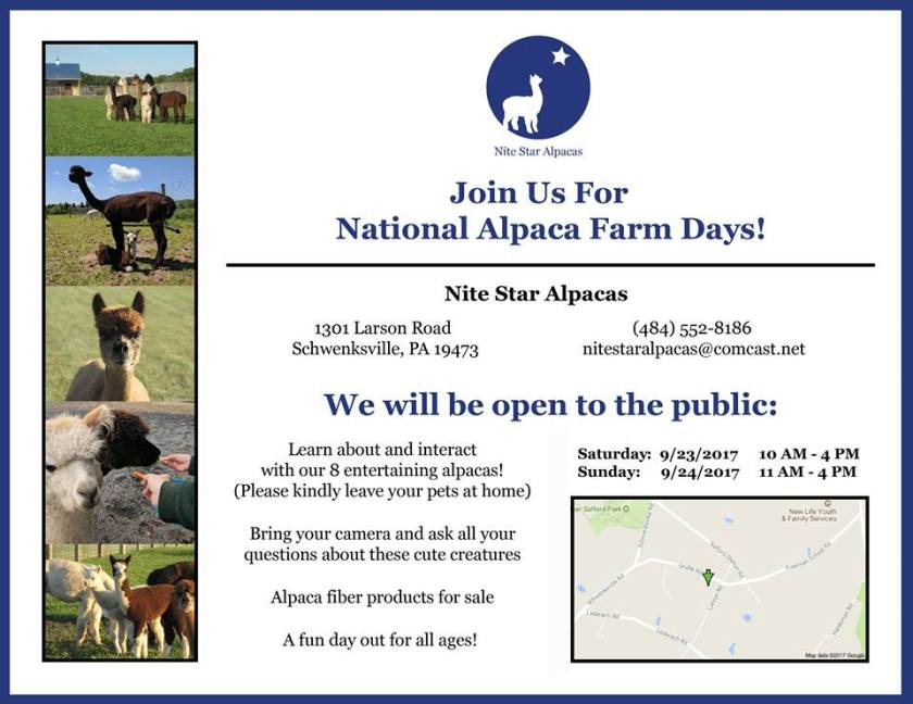 Open Farm Day Flyer